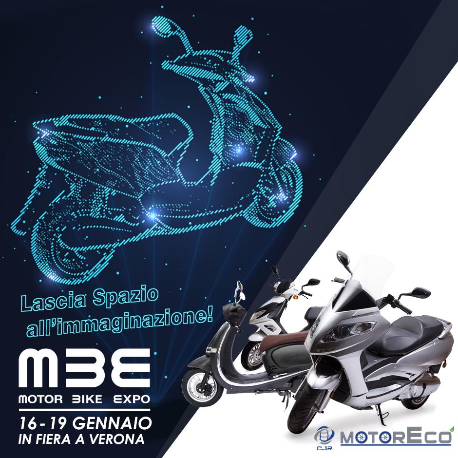 A gennaio CJR MotorEco al Motor Bike Expo di Verona.